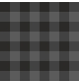 Tile grey and black plaid pattern vector image vector image