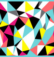 Abstract triangles geometrical pattern