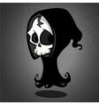 halloween death mascot vector image