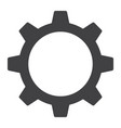 settings glyph icon web and mobile cog sign vector image