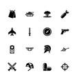 war - flat icons vector image