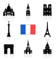 France Icon vector image
