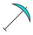 pick line icon simple minimal 96x96 pictogram vector image