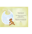baby boy shower announcement card vector image vector image