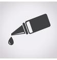 ear or eye drop icon vector image