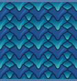 green and blue dragon scales 3d fish scales vector image