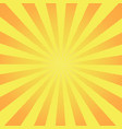 retro rays comic yellow background raster vector image vector image