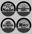 Set of Vintage Label Products vector image