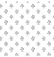 unique digital corals seamless pattern vector image