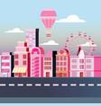 urban city design vector image