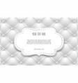 white labels frame border with copy space vector image vector image