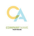 ac ca initial logo concept can be used
