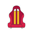 car seat flat vector image