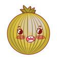 cute onion cartoon vector image
