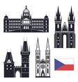 Czech Republic vector image