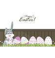 easter eggs for decoration4 vector image