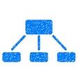 Hierarchy Grainy Texture Icon vector image vector image