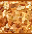 orange geometric camouflage pattern vector image vector image