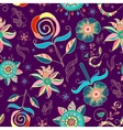 Pattern Flowers13 vector image
