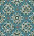 Seamless ornament pattern tile vector image vector image
