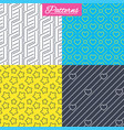 stars diagonal lines and hearts textures vector image vector image