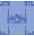 taj mahal seamless background landmark turkey vector image
