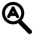 Zoom Auto Scale Stroke Icon vector image