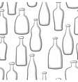 bottles seamless vector image
