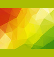 colorful geometric background red yellow green vector image vector image