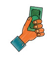 hand doodle vector image vector image