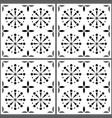 portuguese tile pattern lisbon seamless vector image vector image