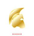 spartan helmet it is icon vector image