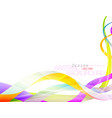 abstract background with colors conceps vector image vector image