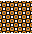 black orange and white seamless abstract vector image vector image
