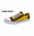 casual shoes vector image vector image