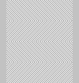 gray seamless zigzag pattern vector image