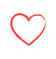 like and heart icon live stream video chat likes vector image vector image