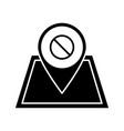 protest location glyph icon