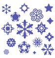 Unusual snowflake vector | Price: 1 Credit (USD $1)