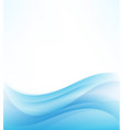 abstract backgroundblue abstract wave vector image vector image