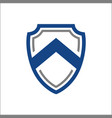 abstract shield security technology medieval vector image vector image