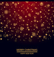 christmas or new year background vector image vector image