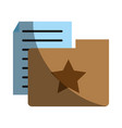 file or document icon image vector image vector image
