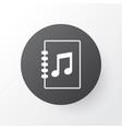 playlist icon symbol premium quality isolated vector image