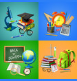 school 2x2 design concept vector image