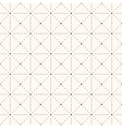Seamless retro polka dot pattern vector image