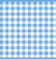 squares textile seamless pattern blue colors vector image vector image