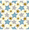 stars seamless pattern hand drawn background for vector image vector image
