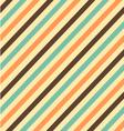 Stripes pattern vintage vector image