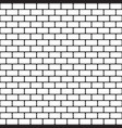 brick pattern seamless background vector image